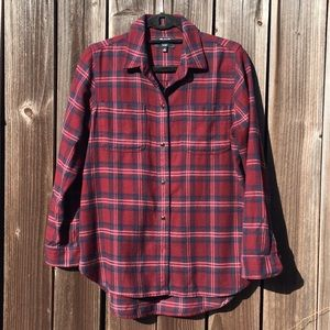 MADEWELL JENSEN PLAID SHIRT